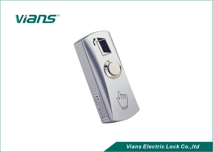 Waterproof Small Door Exit Button , Push To Release Button For Door Access