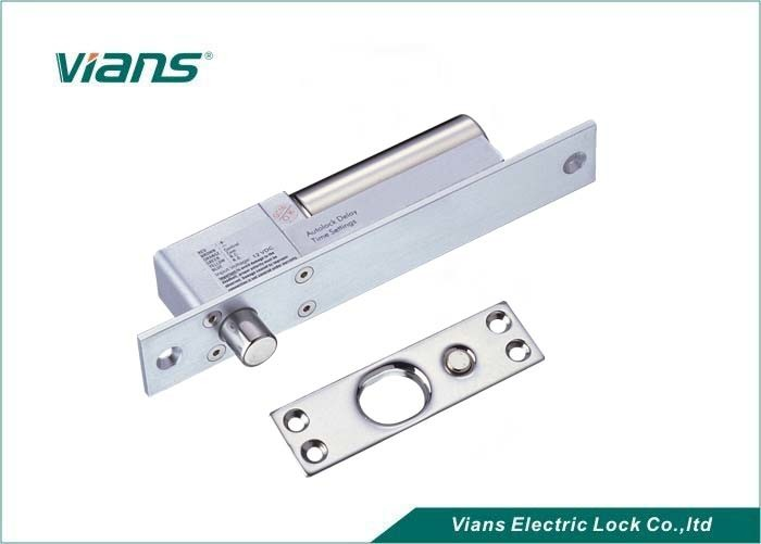 Ultra Low Temperature Electric Deadbolt Lock With Time Delay , Aluminum Alloy Body